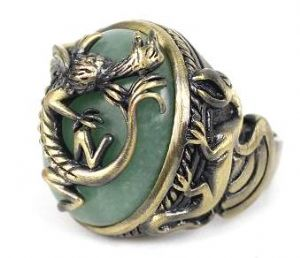 JACK SPARROW DRAGON RING PIRATES THE CARIBBEAN QUALITY ,prop replica